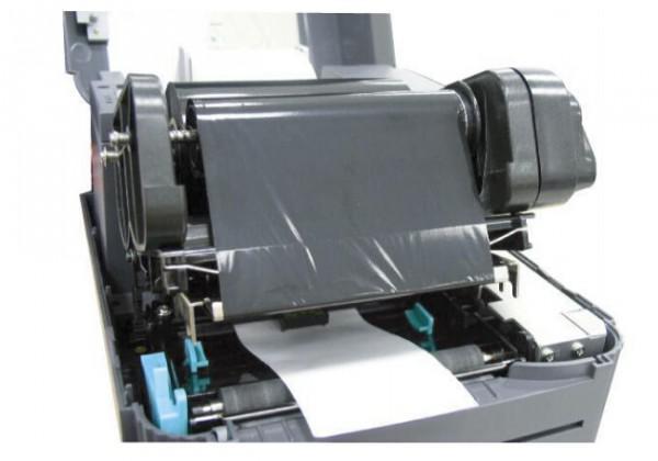 条码打印机换碳带_TSC条码机条码纸及碳带如何更换 - 卡饭网