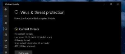 微软Windows 10自带安软应用重命名,更名为Microsoft Defender ATP