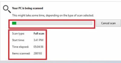 微软快速修复了Defender运行完全扫描时会崩溃的BUG