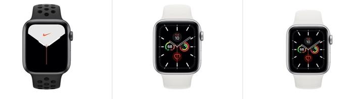 苹果在美首次开售翻新版Apple Watch Series 5