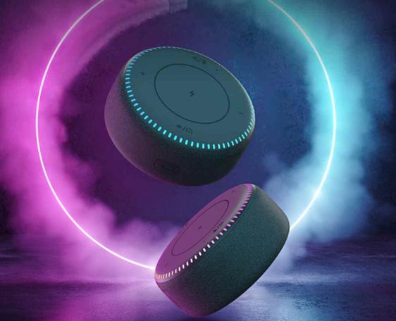 ZMI无线充蓝牙音箱发布:20W无线闪充 7种炫彩灯光