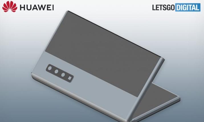 华为折叠屏智能机新专利曝光:柔性屏在内,屏占比更高