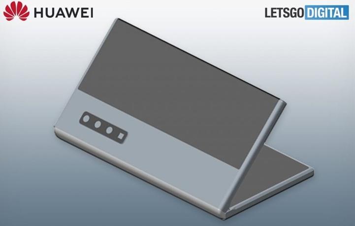 华为全新折叠屏手机专利曝光:双屏+向内折叠+潜望式变焦镜头