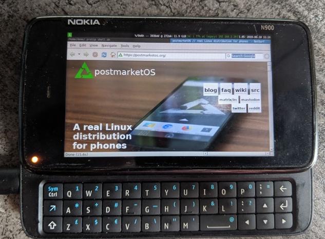 iPhone在列!Linux移动操作系统postmarketOS已适配200款移动设备