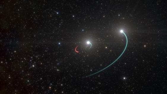 """最新!找到迄今为止离地球最近的黑洞:藏身""""三体""""中"""