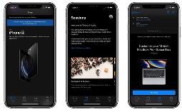 苹果 Apple Store App 新增支持 iOS 13 暗黑模式