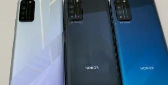 荣耀X10 探速黑、光速银、竞速蓝真机视频曝光:四边边框较窄