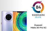 "DxOMark认为华为Mate 30 Pro 5G前摄综合评分""表现平平"""