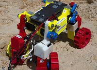 """NASA研制""""迷你型""""火星车:陷入沙层可成功自救,外观超萌"""