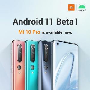 小米10/Pro 国际版 Android 11 Beta 1 固件发布