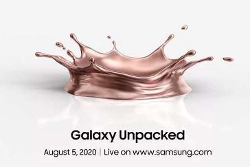 Galaxy Note20/Fold 2 将至!三星官宣:8 月 5 日举行 Unpacked 发布会