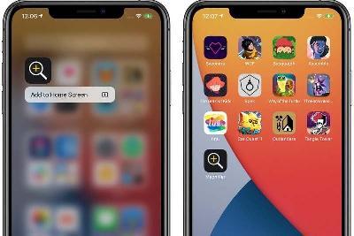 苹果 iOS 14 放大器功能全面改进,还可添加到主屏幕