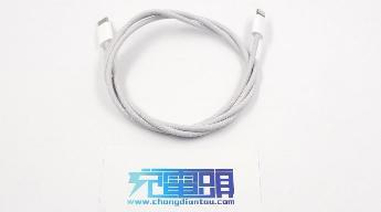 苹果 iPhone 12/Pro 标配 USB-C to Lightning 快充编织线缆曝光