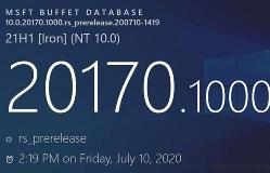 微软发布Win10 Build 20170更新:改进系统任务栏搜索等