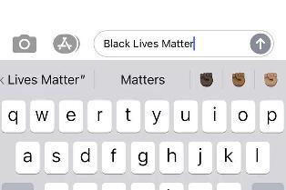 苹果 iOS 输入法新增黑人 emoji:标志性举拳头
