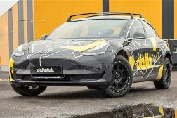 特斯拉Model 3越野版曝光:车身升高+四驱 动力远超丰田陆巡