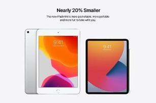 苹果新iPad mini概念图:Face ID 尺寸小20%