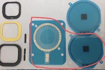 iPhone 12 无线充电模块曝光,支持磁吸定位