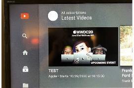 苹果的YouTube直播测试暗示下一场发布会的举办时间可能为9月10日