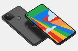 谷歌5G新机真机照曝光:挖孔屏+后置指纹