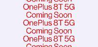 一加确认One Plus 8T即将发布