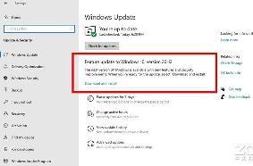 Windows 10下半年大版本更新或只有100MB