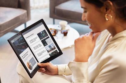 ThinkPad X1 Fold宣布:全球首款折叠PC  数字语音助理:支持转录视频字幕