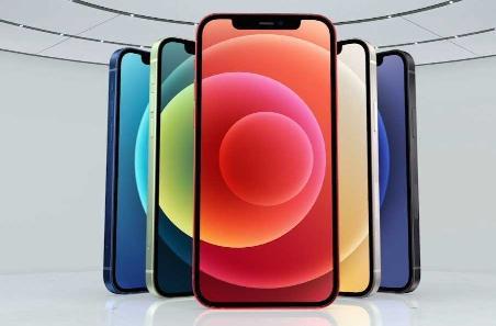 苹果 iPhone 12 5G 搭载 A14 芯片:采用直面边框设计,五款颜色