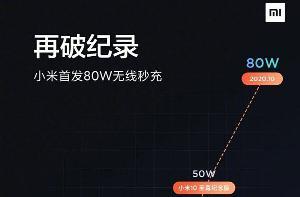 小米:将于19日公布最新无线充电记录,超越50W