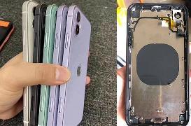 华强北魔改iPhone12生意火爆 旧机换装再用两年没问题