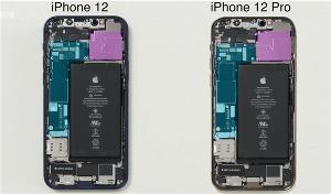 iPhone 12 Pro Max拆解照曝光:主板袖珍、L型电池仅3687mAh