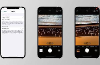 iOS 14.3 Beta 增加全新 ProRAW 照片格式:每个文件约 25MB
