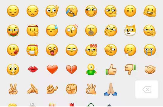 微信6个新表情含义是什么
