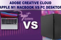 当M1 MacBook遇上AMD锐龙5000台式机:苹果被虐惨了