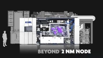 荷兰ASML公布1nm芯片的EUV光刻机设计