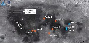 嫦娥五号顺利登月 传回第一视角视频