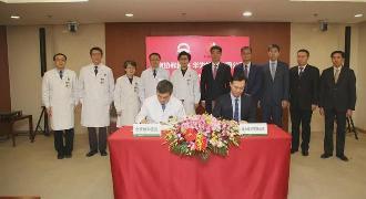 背景协和医院和华为合作建立全新模式智慧医院