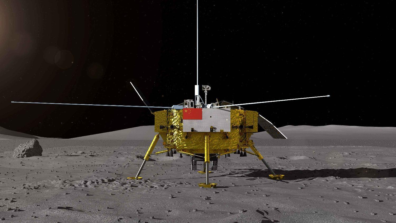 月球土壤乘机回地球,嫦娥五号成功实现对接体分离