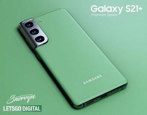 三星Galaxy S21神秘幻影绿配色曝光 标准版首批预售已被抢空