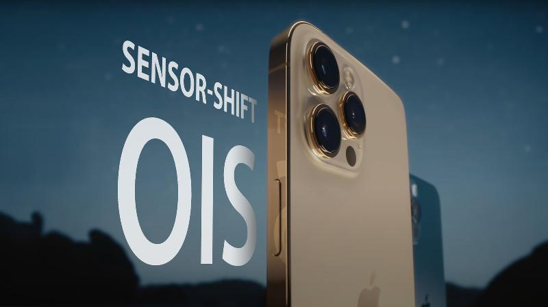 iPhone 13 或全系标配传感器位移式防抖