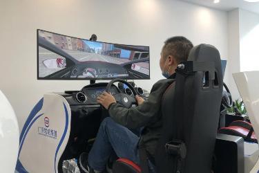 坐在AI模拟器上随时随地就能学驾驶,传统驾校要被舍弃