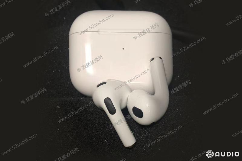 苹果第三代AirPods疑似曝光:耳塞可拆卸