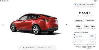 开售不到1个月便遭遇下架,特斯拉暂停接受入门版Model Y订单