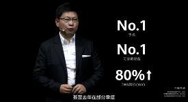 华为在中国手机和可穿戴产品市场份额第一!余承东:2020,我们活过来了