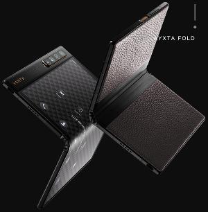 Vertu首款折叠屏手机Ayxta Fold开售,搭载骁龙865、后置四摄45800元