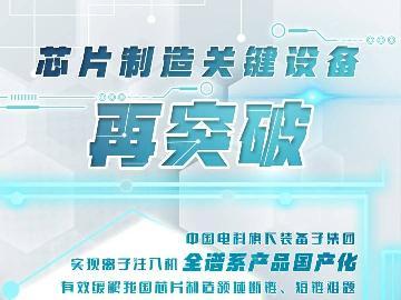 新华社:芯片制造关键设备再突破 离子注入机实现全谱系产品国产化