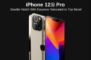 iPhone 12s Pro最新外观渲染图曝光:刘海面积大幅减小