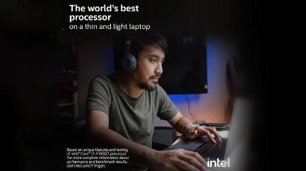 """英特尔""""世界最佳处理器""""广告中出现苹果MacBook Pro"""