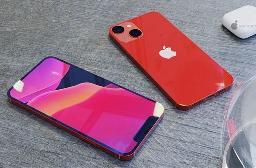 iPhone 13 真机渲染图:全新对角线布局