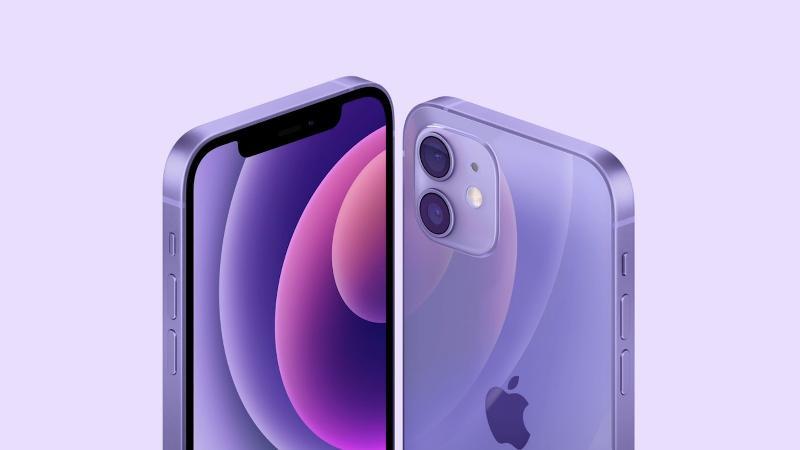 苹果推出全新紫色iPhone12,网友:要是推出皮革紫色款会怎样?
